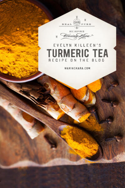 Turmeric Tea Tall Pin