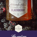 Blackberry Honey pinterest image