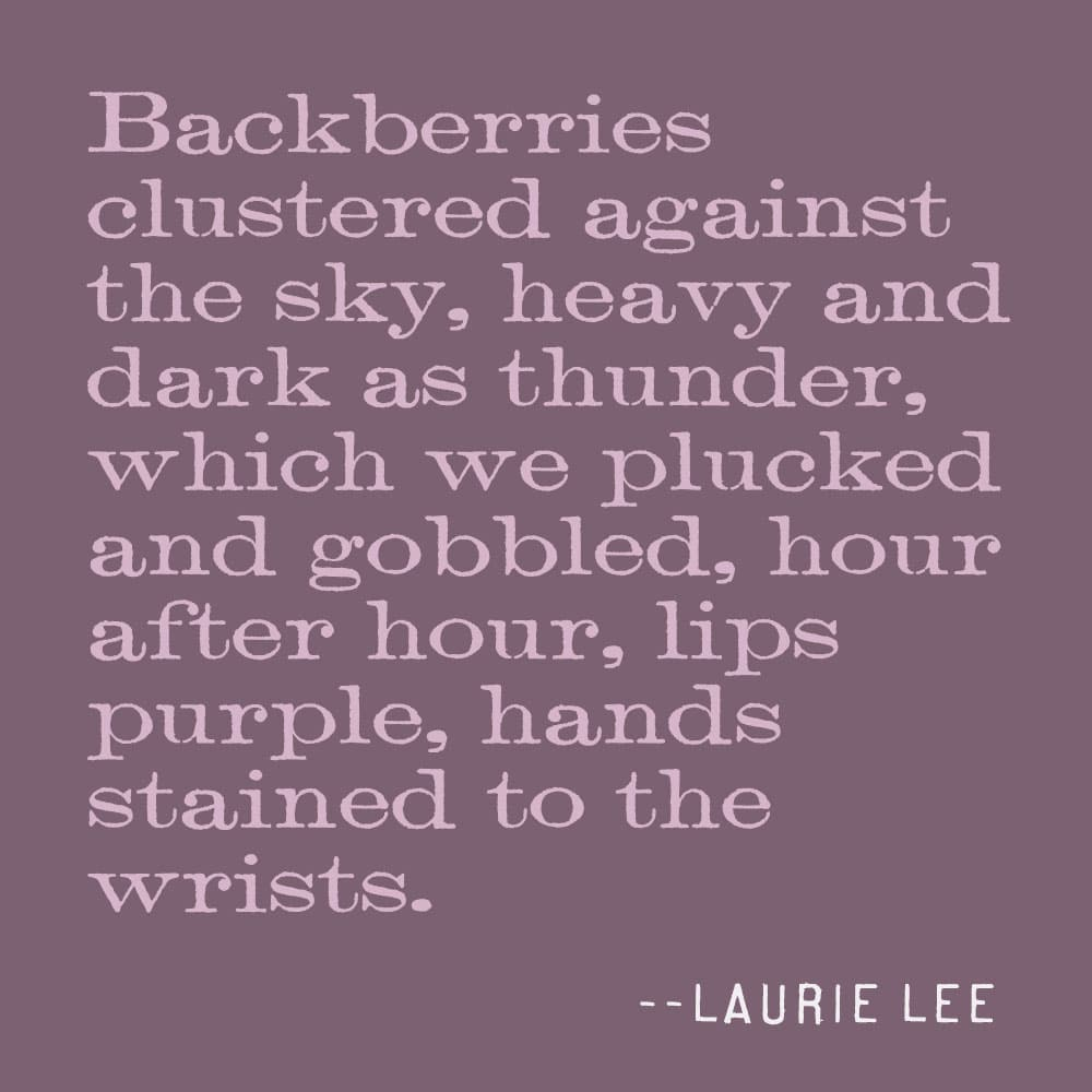 quote about blackberries