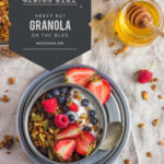 honey nut granola tall pin