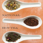 National Hot Tea Month Tall Pin