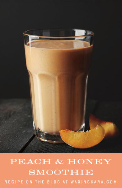 Tall pin for Peach Smoothie