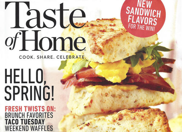 Thumbnail image of Taste of Home magazine cover, April-May 2019