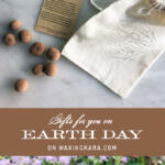 Earth Day Tall Pin celebrating spring