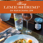Lime Shrimp tall pin