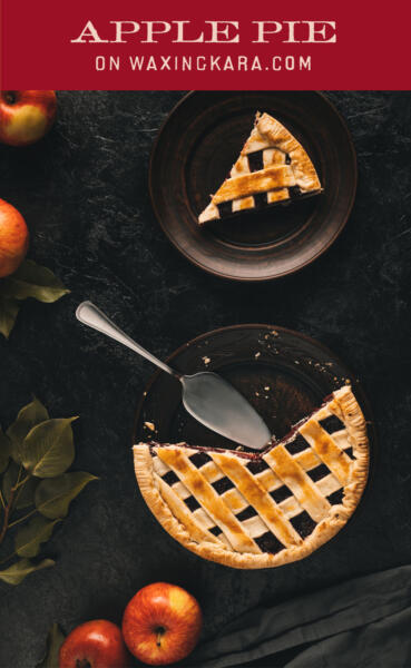 National Apple Pie Day Tall Pin