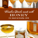 Bourbon Drinks made with Honey Tall pin
