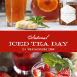National Iced Tea Day Tall Pin