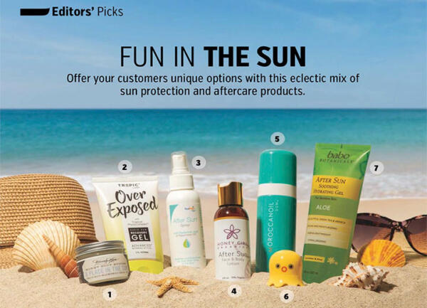 Beauty Store Business Magazine July 2019 Fun in the Sun Feature