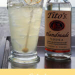 Eastern Shore Buzz Lemon Vodka Cocktail pinterest image