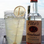 eastern shore buzz drink lemonaide with honey and titos vodka