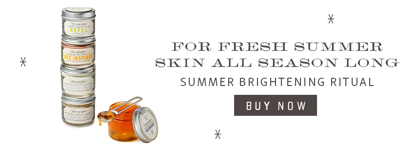 Advertisement for Summer Brightening Ritual