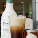 Iced latte tall pin