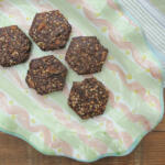 paleo cookies on a platter